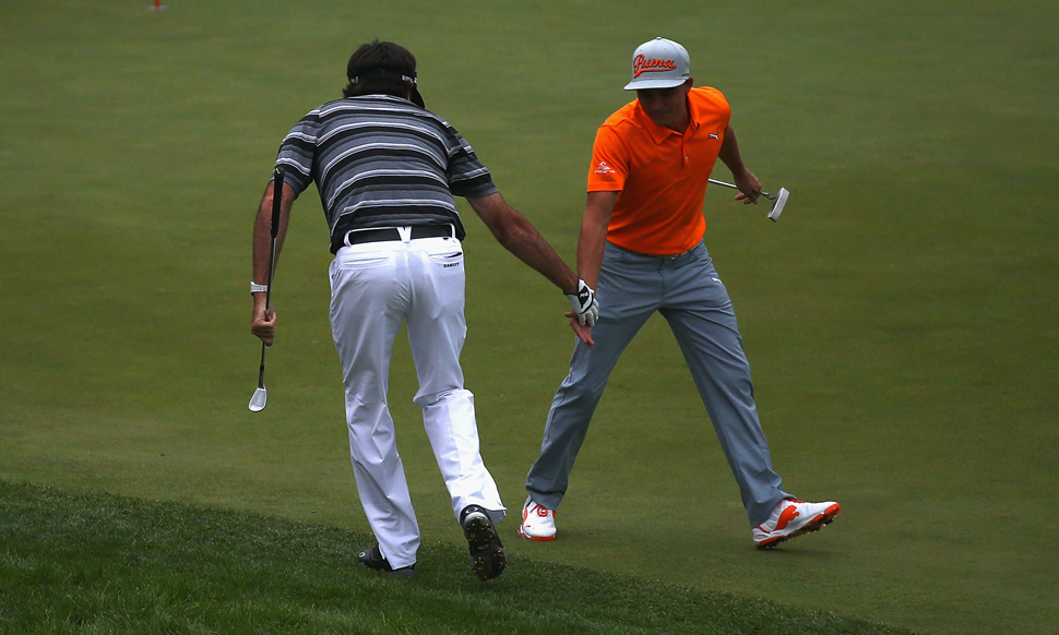 Rickie Fowler December Caption
