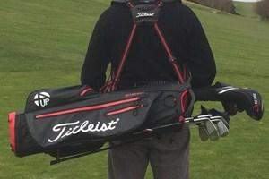 Titleist 4up Stadry Stand Golf Bag Review Golfalot