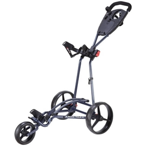 Big Max Auto Fold Trolley - Blue