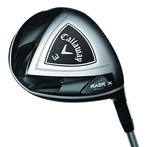 Callaway RAZR X Black Fairway Wood - Sole View