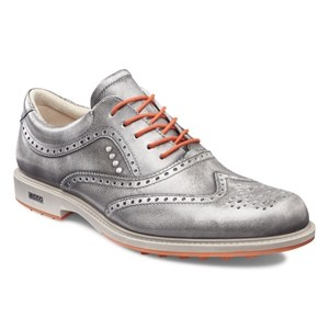 Ecco Tour Hybrid Shoe - Buffed Silver