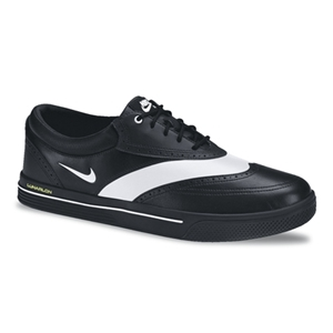 Nike Lunar Swingtip Shoe - Black and White