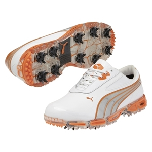 Puma AMP Cell Fusion Shoe - White and Orange