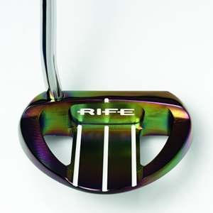 Rife Tropical Barbados Putter - Back View