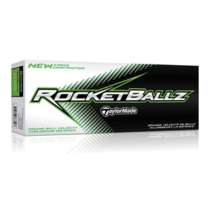 TaylorMade Rocketballz Ball - 12-Ball Pack