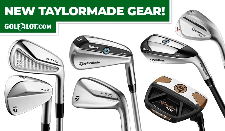 BRAND NEW TAYLORMADE GEAR!