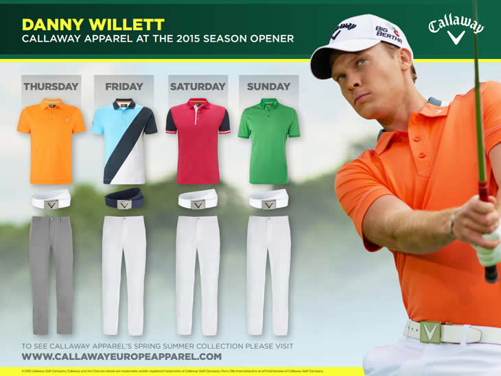Danny Willett 2015 US Masters