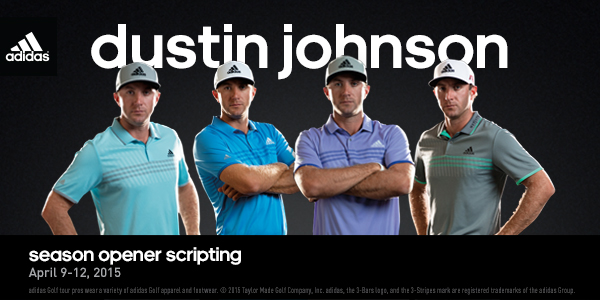 Dustin Johnson 2015 US Masters