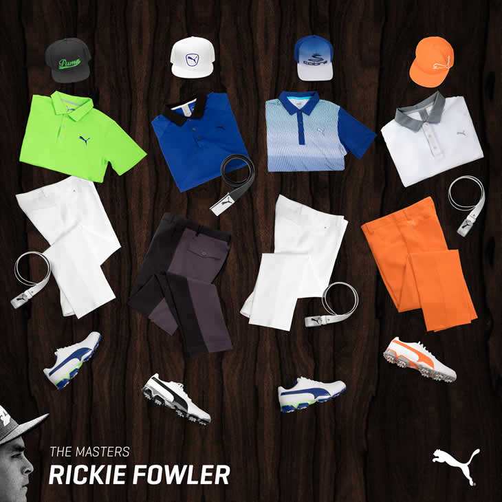 Rickie Fowler 2016 US Masters