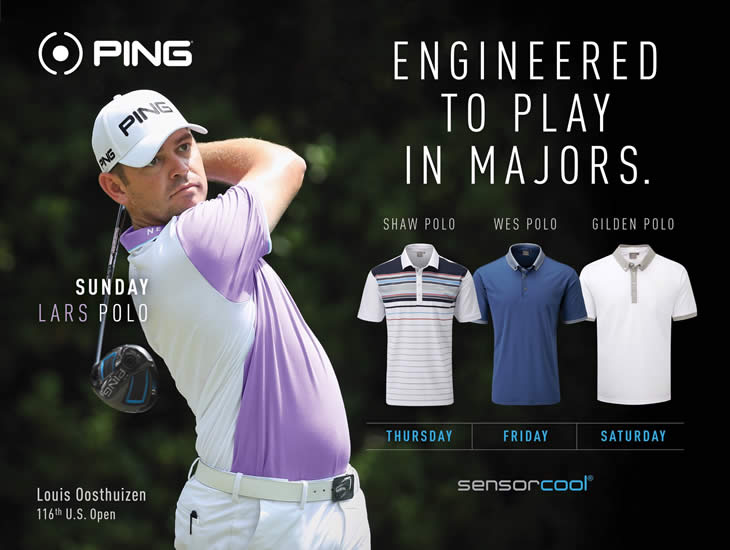 Louis Oosthuizen US Open 2016 Clothing