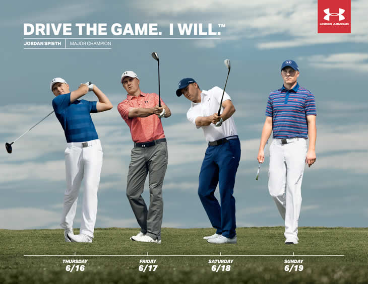 Jordan Spieth US Open 2016 Clothing
