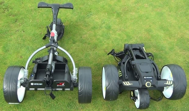 Motocaddy M1 S1 TrolleyCompare