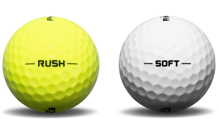 Pinnacle Rush And Soft Golf Balls