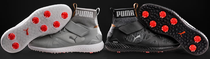 Puma Golf Ignite Pwradapt Hi-Tops Golf Shoes