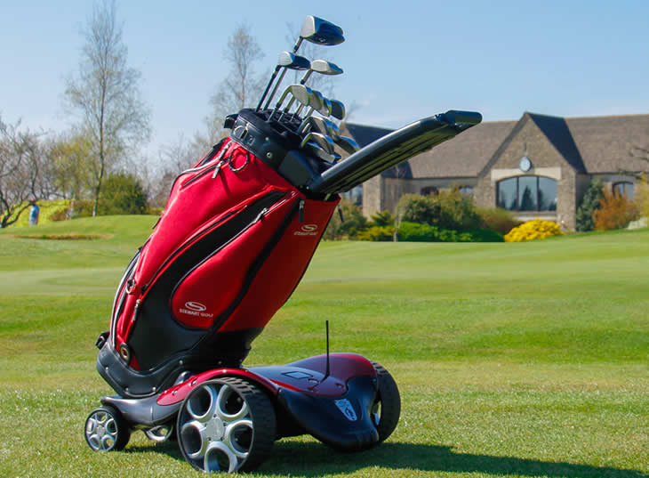 Stewart F1-S Remote Golf Trolley