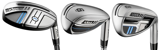 Adams New Idea Hybrid Irons