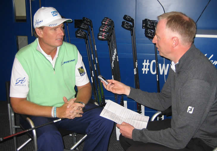 Ernie Els Interview