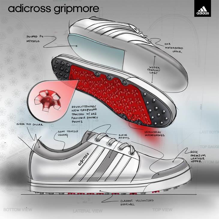Adidas Adicross Gripmore Front