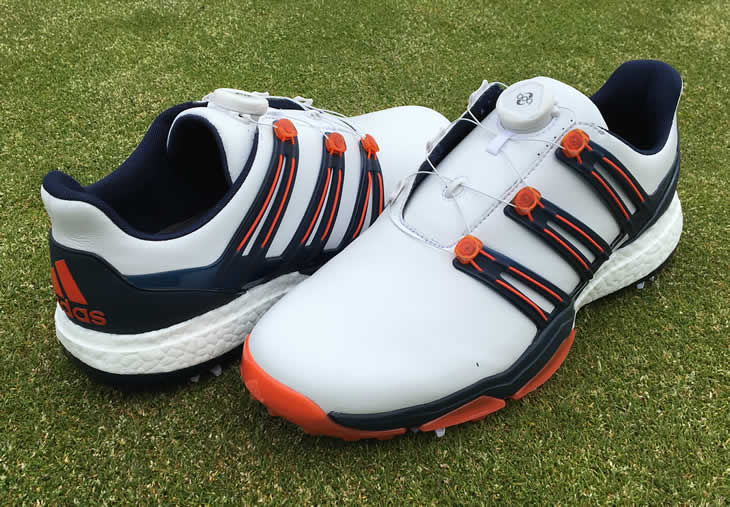 Adidas Powerband BOA Boost Golf Shoe