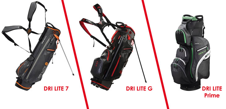 Big Max Unveil Updated Drilite Bag Range Golfalot