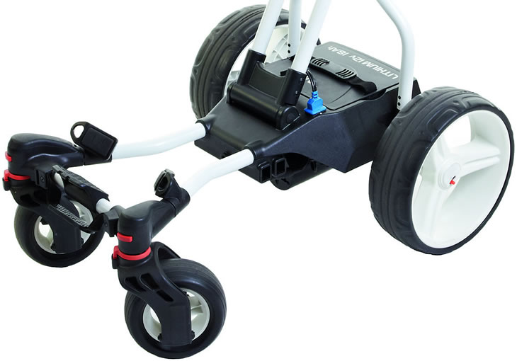 Big Max Coaster Quad Brake Electric Trolley