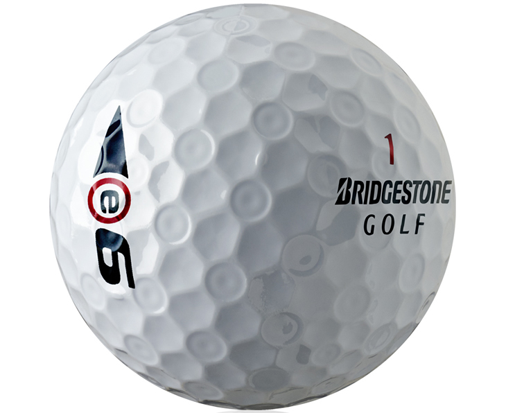 Bridgestone E-Series Golf Balls Dimple Pattern