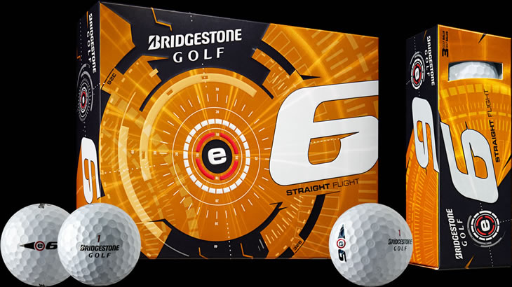 Bridgestone E-Series e-6 Golf Ball