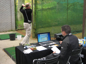Bridgestone Ball Fitting Swing
