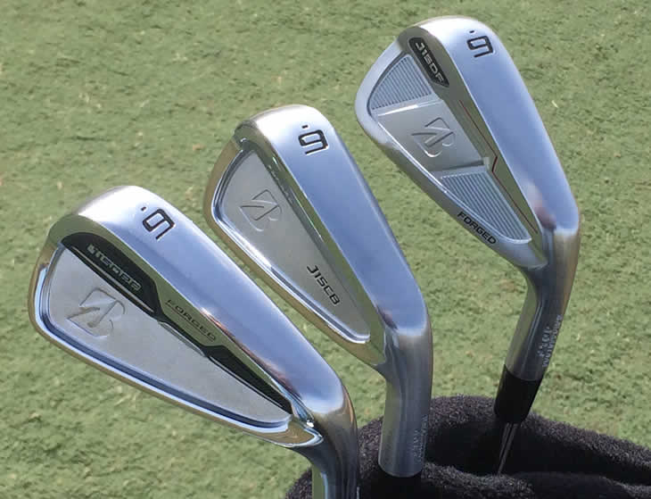 Bridgestone J15 Forged Irons