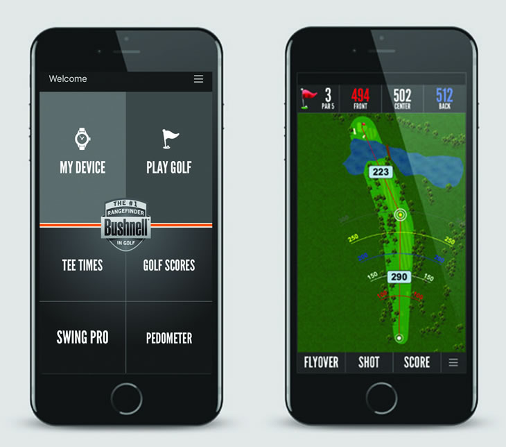 Bushnell Golf GPS App