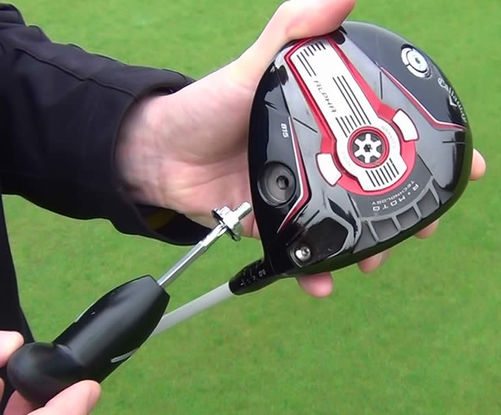 Callaway Big Bertha Alpha 815 Driver Sole Weight
