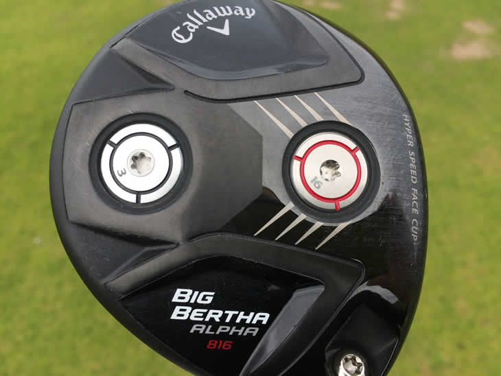 Callaway Big Bertha Alpha 816 Fairway