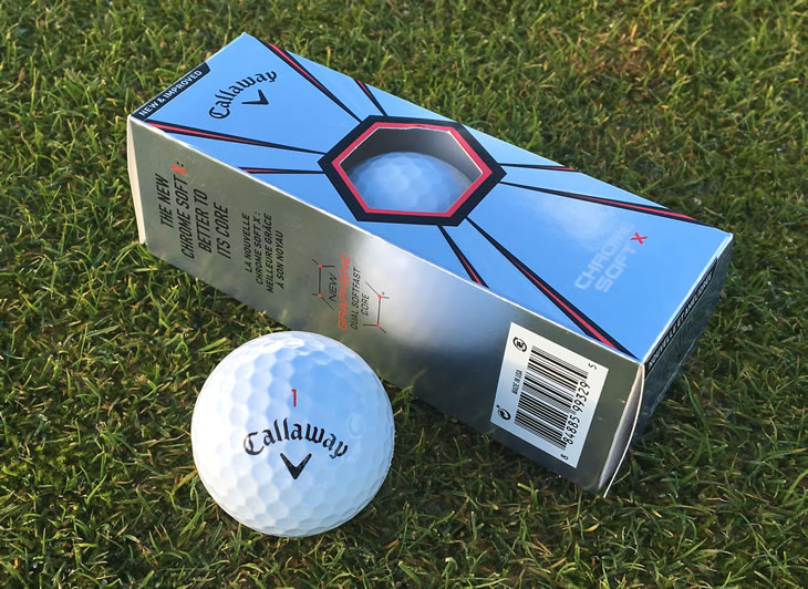 Callaway Chrome Soft X Ball