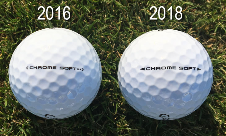 Callaway Chrome Soft 2018 ball