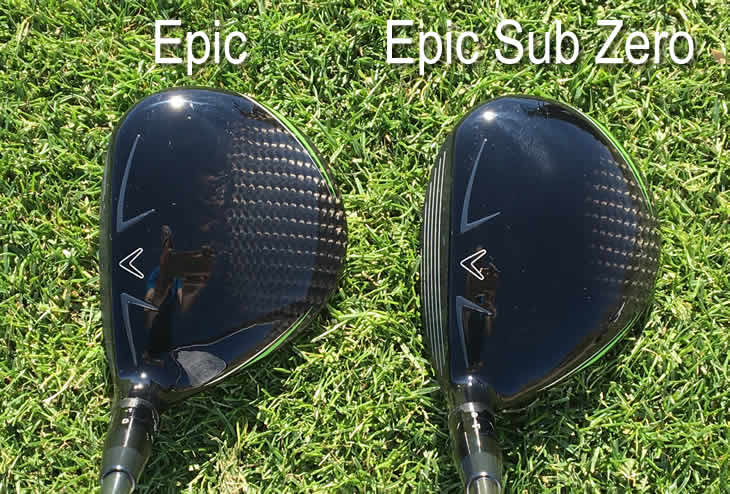 Callaway Great Big Bertha Epic Sub Zero Fairway