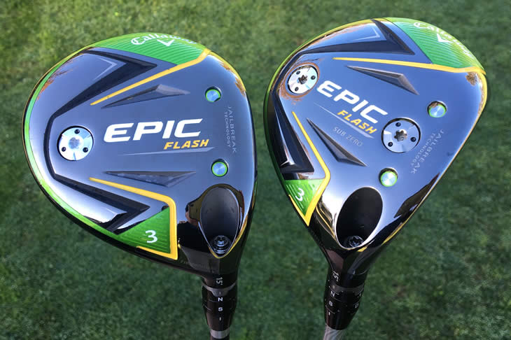 Callaway Epic Flash Fairway Wood Review - Golfalot