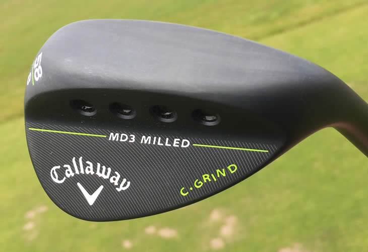 Callaway Mack Daddy 3 Milled Wedge