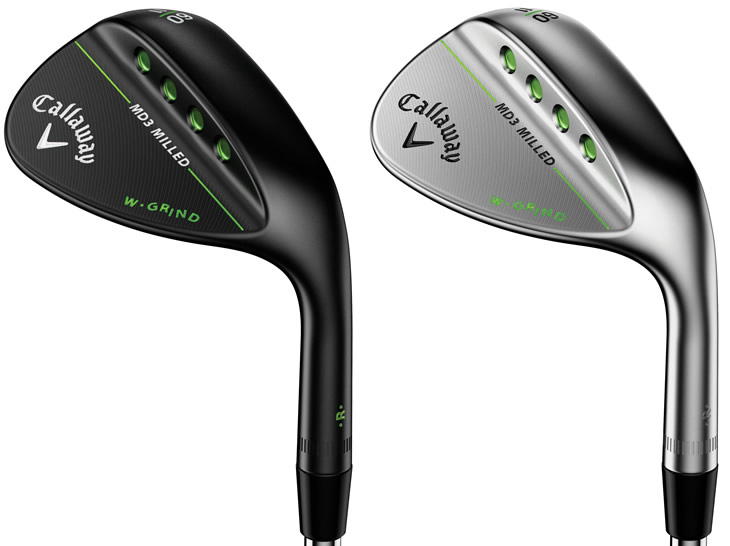 Callaway Mack Daddy 3 Milled Wedges