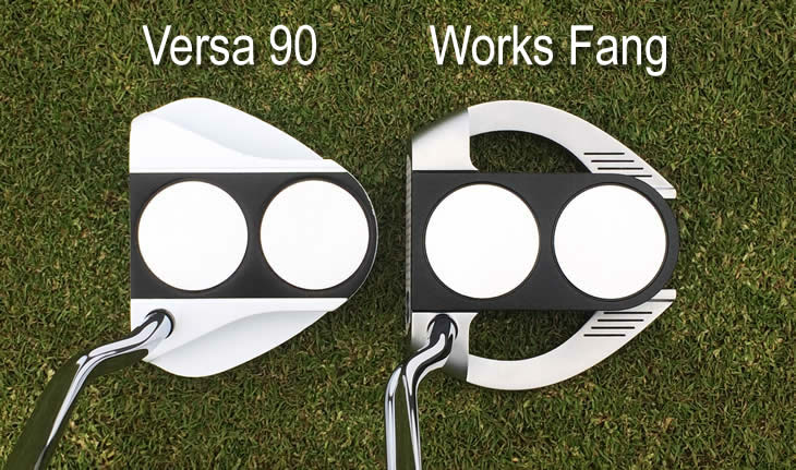 Callaway Odyssey Works Versa 2-Ball Fang Putter