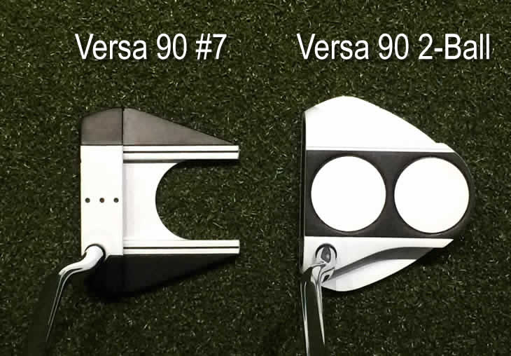 Odyssey Putters Versa 90 #7 and 90 2-Ball