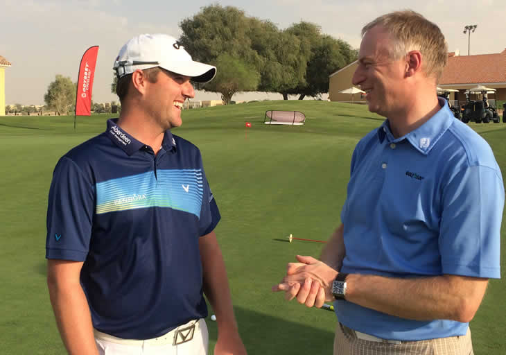 Marc Warren Putter Interview