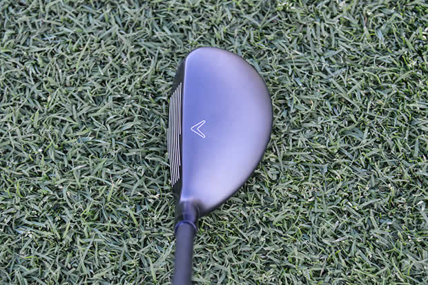 Callaway X2 Hot Hybrid Address View