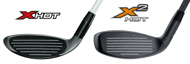 Callaway X2 Hot vs X Hot Face Comparison