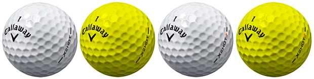 Callaway X2 Hot Ball Options