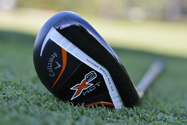 Callaway X2 Hot Pro Hybrid Laying Down