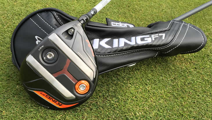 Cobra King F7 Fairway Wood Review - Golfalot