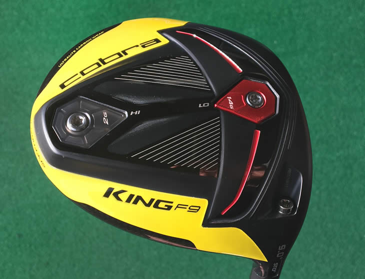 Cobra King F9 Speedback Driver Review - Golfalot