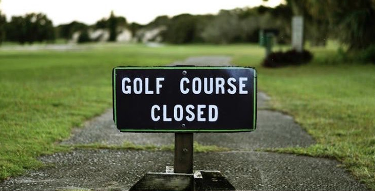 Coronavirus - Courses Closed