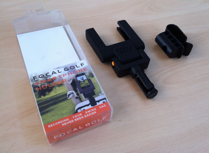 Focal Golf Smartphone Holder