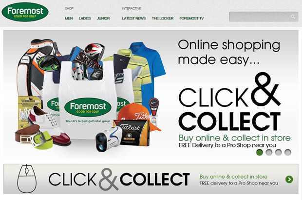 Foremost Golf Online Store